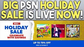Big PSN Holiday Sale is Live! - Tons of Great PS4 Game Deals!