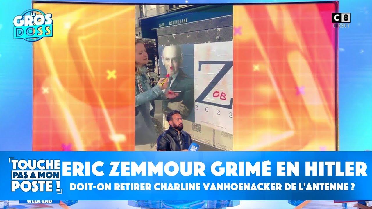 Eric Zemmour grimé en Hitler : doit-on retirer Charline Vanhoenacker de l'antenne ?