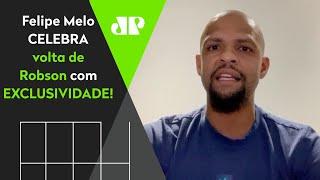 Exclusivo! Felipe Melo agradece a Bolsonaro e celebra volta de Robson ao Brasil!