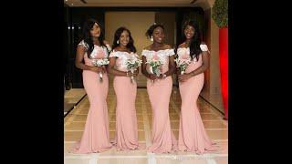 Gorgeous Bridesmaid Dresses 2020 فستان