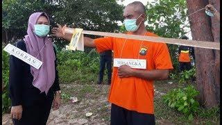 Satreskrim Polres Bateng Gelar Rekonstruksi Pembunuhan Nurmaella, 23 Adegan Diperankan