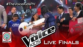 The Voice Kids Philippines Season 2 Grand Champion: Elha Mae Nympha of Team Bamboo
