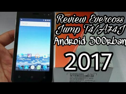 [Review]Evercoss Jump T4/A74J Android Marshmallow 500rban