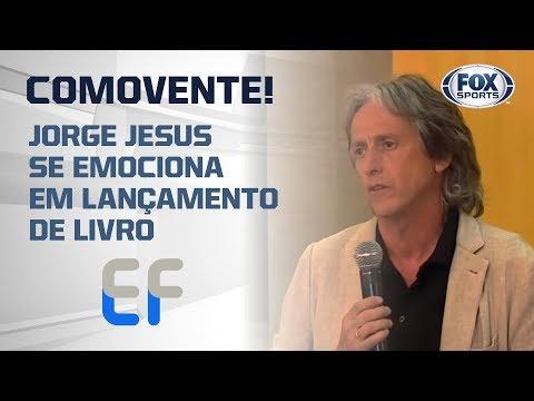 """EMOCIONANTE! JORGE JESUS CHORA AO CITAR VISITA AO INCA: """"ALI É QUE A GENTE APRENDE O QUE É VIDA"""""""