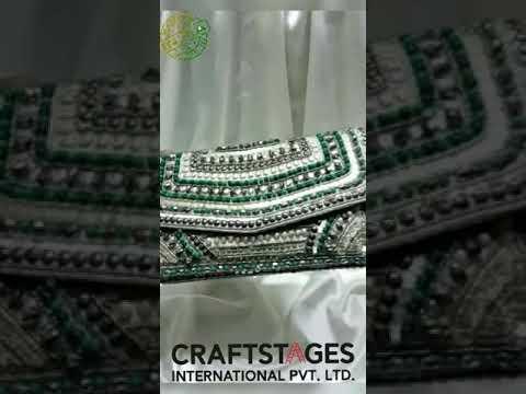 Designer Ethnic Clutch Bag - Bridal & Evening Clutch Bag