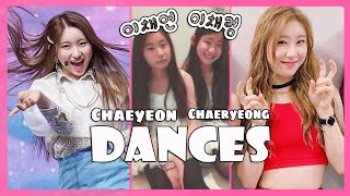 (IZONE) / Chaeyeon X (ITZY) / Chaeryeong - Dance Evolution Sisters / 2013 - 2019 (short ver.)