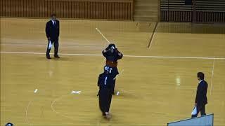 第27回全国高校剣道選抜愛媛県予選会、男子団体準決勝:新田高校vs