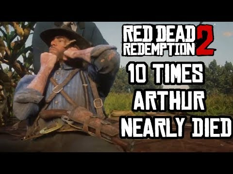 10 Times Arthur Morgan Nearly Died Red Dead Redemption 2 Hotop