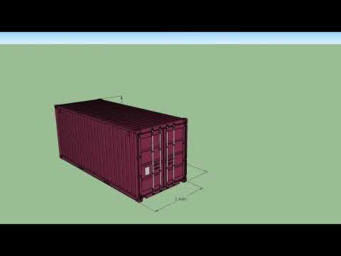 20ft uStore Shipping Containers, Site Offices, Event Spaces, Bars & Cafes