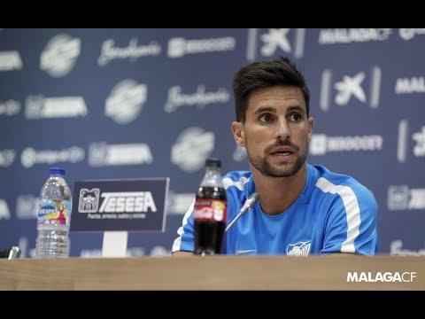 El jugador del Málaga Adrián pide ser cautos con el equipo