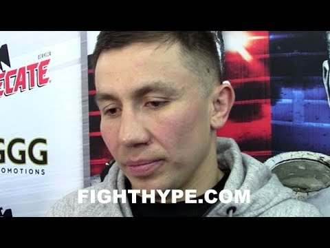 GOLOVKIN OPENS UP ON LATE REPLACEMENT MARTIROSYAN; EXPLAINS HOW CANELO PED BUST AFFECTED HIM