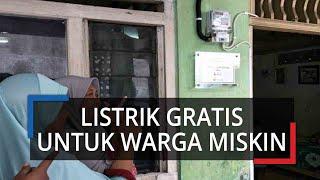 Presiden Jokowi Tagihan Listrik 3 Bulan ke Depan bagi Warga Miskin