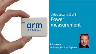 Power measurement using ULINKplus