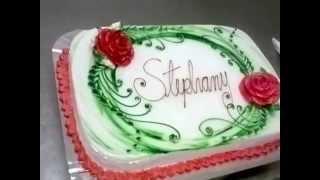 Decorando bolo com chantilly  – Faça trabalhos incríveis
