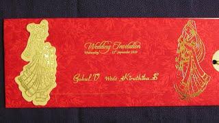 Creative Indian Wedding Invitation Card