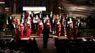 Masters in this Hall - Choir Singing a Classic Christmas Song