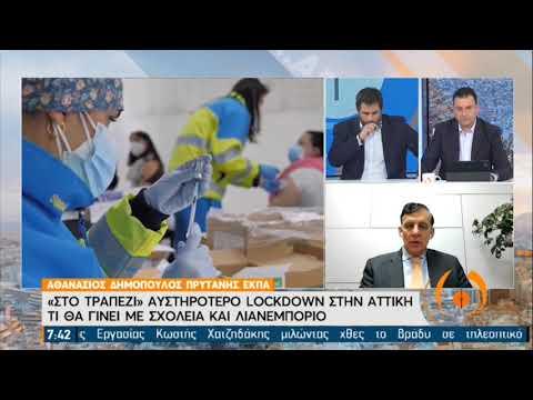 Θ.Βασιλακόπουλος: Δεν προκαλεί έκπληξη ένα νέο lockdown |ΕΡΤ 29/01/2021