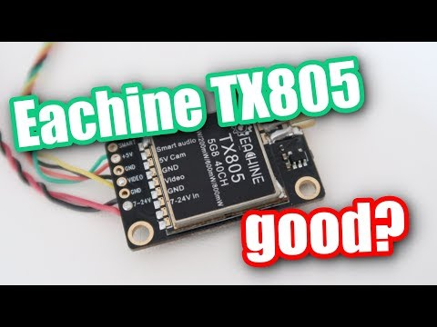 Eachine TX805 video transmitter review. Good and cheap?