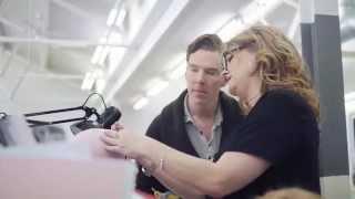 Бенедикт Камбербэтч, The making of Benedict Cumberbatch's wax figure at Madame Tussauds London
