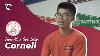 youtube video thumbnail - How Max Got Into Cornell