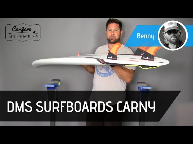 DMS Surfboards Carny Surfboard Review w/ Carbon Wrap + FCS 2 Accelerators | Compare Surfboards