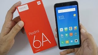 Xiaomi Redmi 6A Budget Smartphone Unboxing & Overview