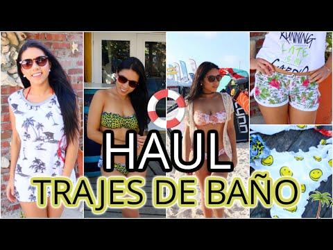 HAUL | Probandome TRAJES de BAÑO!