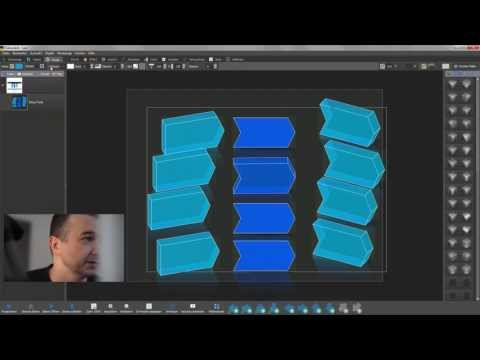 2D Bausteine nach 3D Extrudieren
