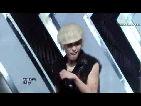 [120129] B.A.P - Burn It Up (Debut Stage 1/2) [Inkigayo]