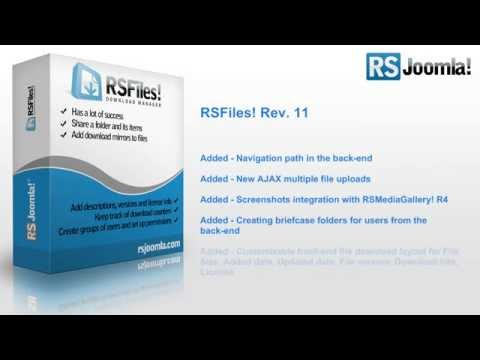 RSFiles! - Rev 11 - Improved design and usability
