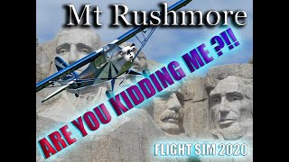 ✈Tour Of Mt Rushmore-Flight Simulator 2020-🤯What We Find Is Amazing