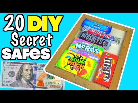 20 Smart Secret Safes You Can Try At Home To Hide Money and Food - LIFE HACKS | Nextraker