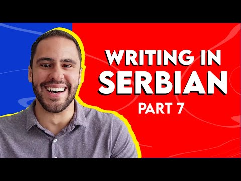 10 Tips to Learn Serbian   Writing ✨ Feat. @Thiago Ferreira (Episode 7)