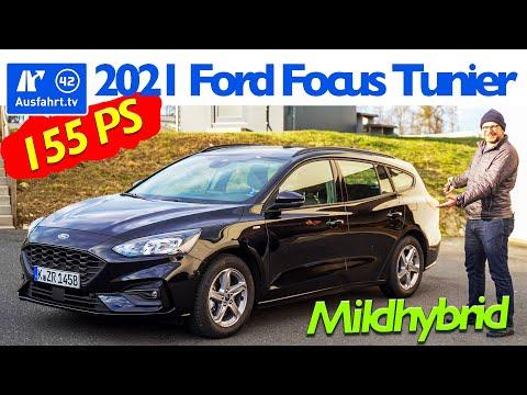 2021 Ford Focus Turnier ST-Line 1.0l MHEV - Kaufberatung, Test deutsch, Review, Fahrbericht