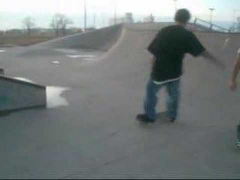 messin around at emporia skatepark