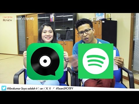 Video OneOnOne Review : JOOX VS SPOTIFY