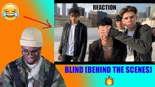 PRETTYMUCH   Blind (Behind The Scenes) *REACTION* 🔥🔥