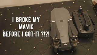 I Broke My Mavic BEFORE it was Delivered!?!? Dronership  Episode 1