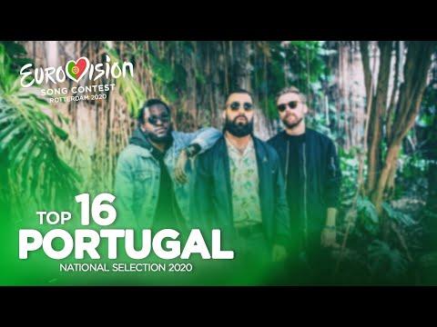 🇵🇹: Eurovision 2020 - Festival da Canção 2020 - Top 16