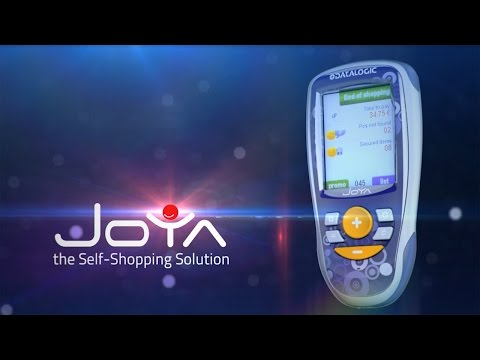 Datalogic's Joya Device - The Self-Shopping Solution ~ English