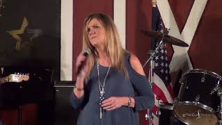 Gina Mitchell sings I'm Not Lisa at The Gladewater Opry 3 31 18