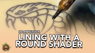 Tattooing 101-How To Line With A Round Shader
