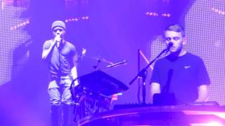 Disclosure's rehearsal with Kwabs 'Willing & Able'