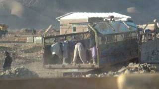 preview picture of video 'unloading a truck Afghan style'