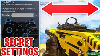 secret settings to improve aim and skill in apex legends (ps4/xbox one controller)