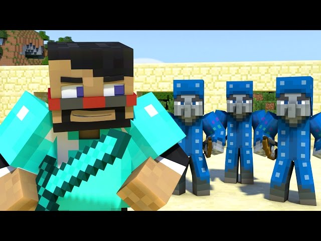 Impossible-battle-minecraft-animation