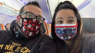 Travel Day to Disney World: Flying from Newark to Orlando | Disney World January 2021