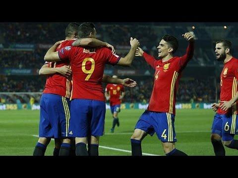 España 4-0 Macedonia   Goles   Clasificacion Mundial 2018   COPE