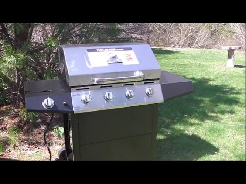 Char-Broil Walmart 4 Burner Propane Gas Grill Review