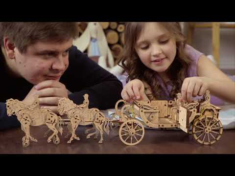 UGears UTG0048 Royal Carriage (Limited Edition)   eBay